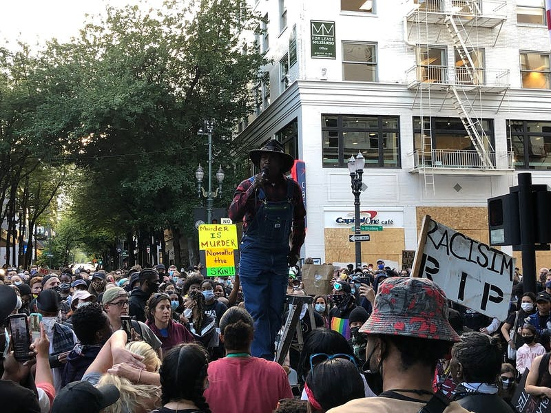 Recent protests against police brutality in Portland, Oregon have seen the deployment of unmarked federal officers to quash protests and arrest peaceful protestors.