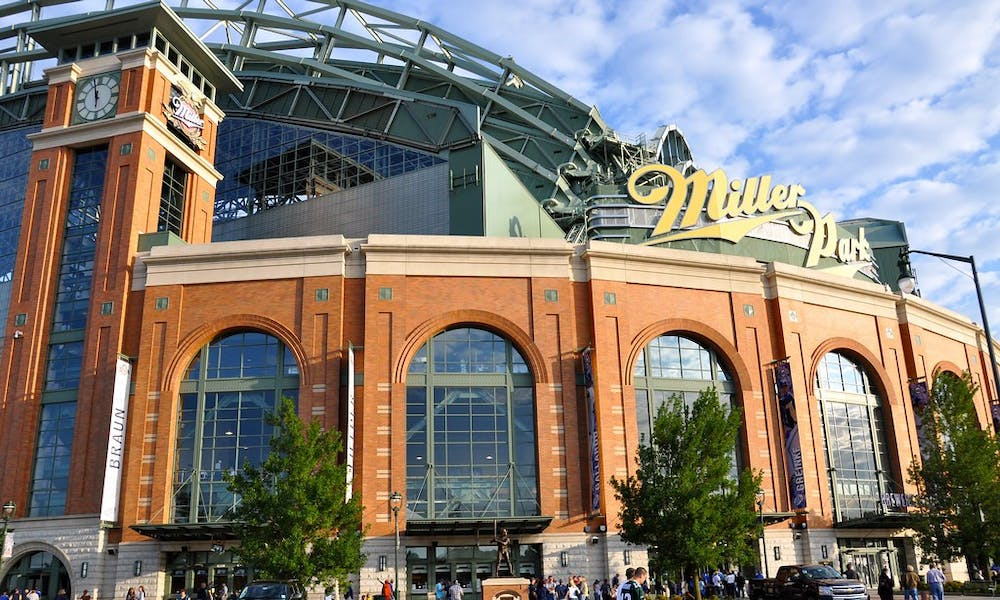 <p>Miller Park has been without fans all season, but today it is without players as well.</p>