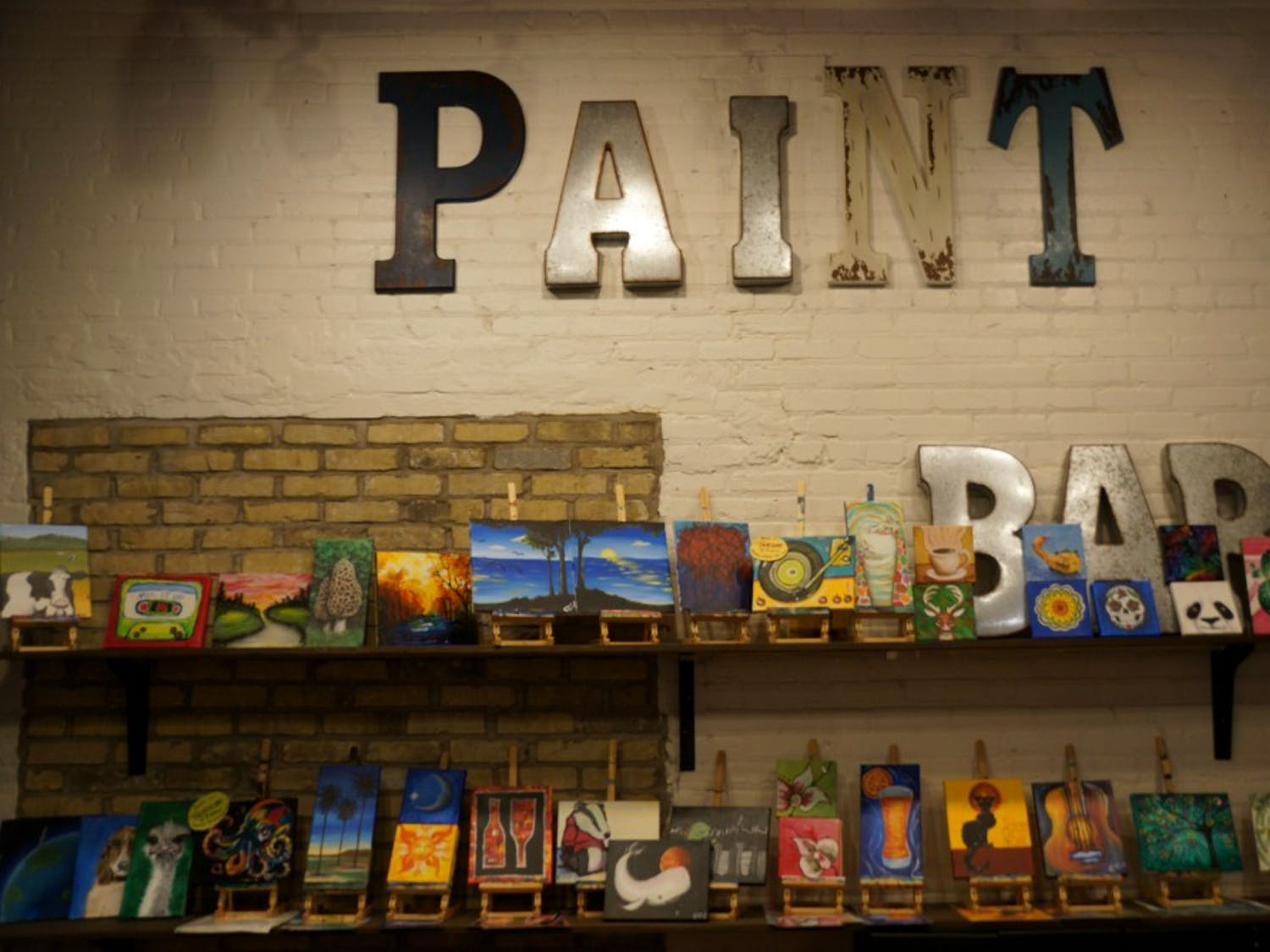 PaintBar offers many fun opportunities for visitors looking to showcase their art skills.