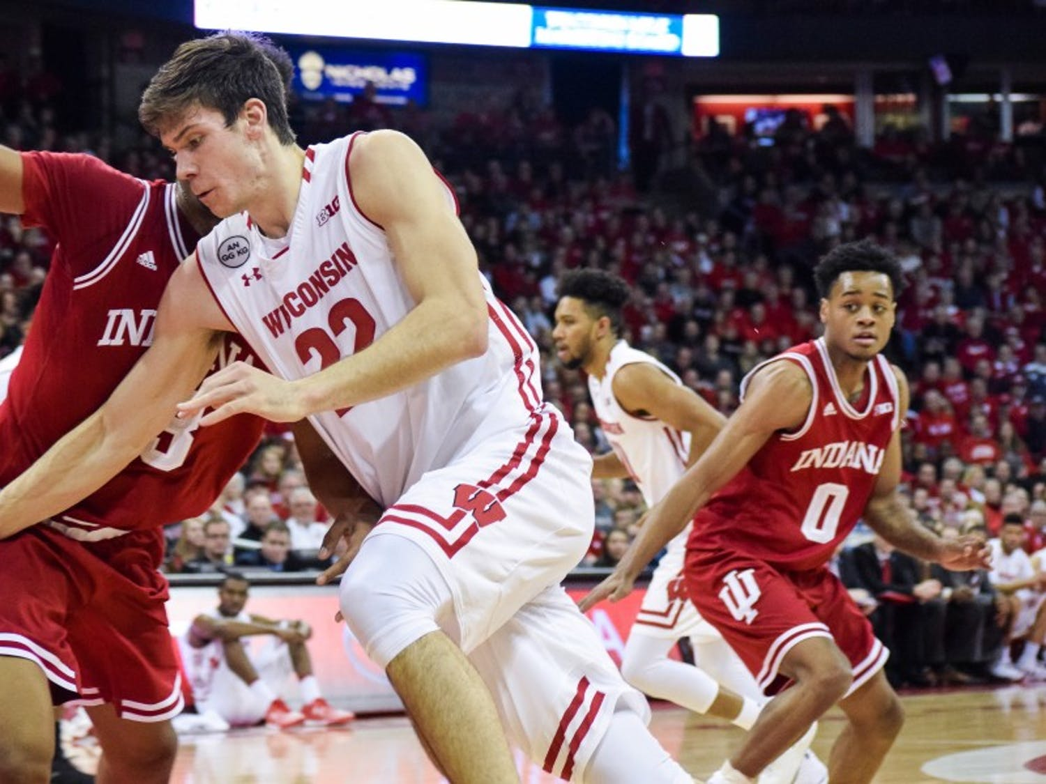 Ethan Happ dominated the Indiana Hoosiers as Wisconsin returned to conference play earlier this week.