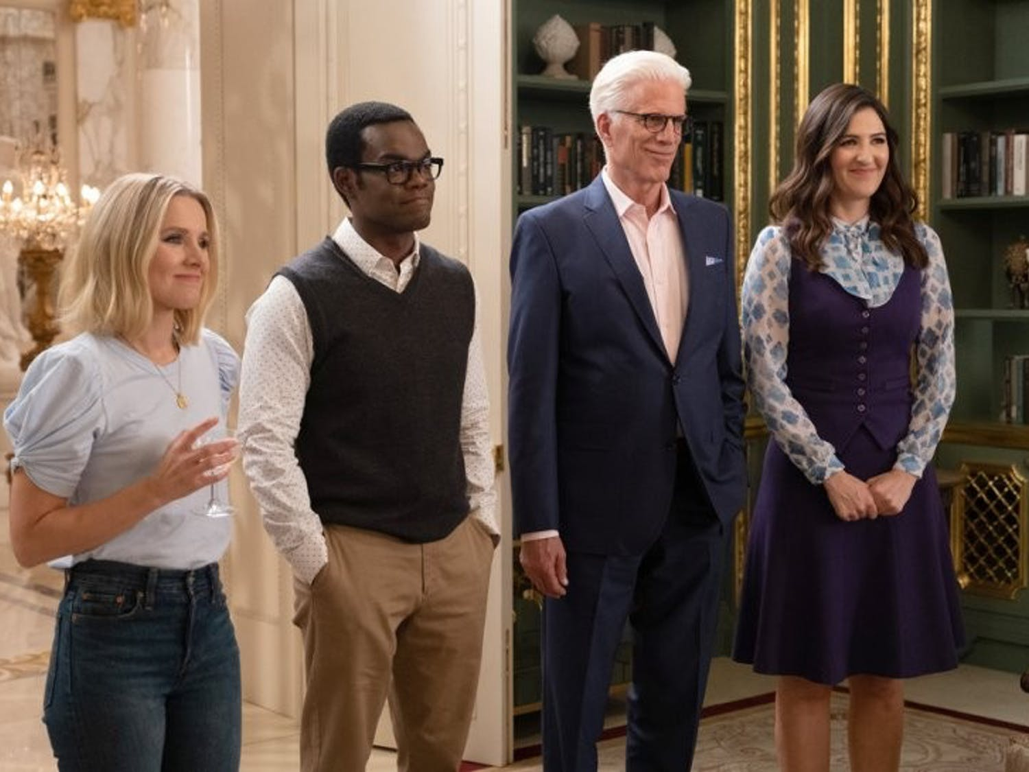 """Despite lasting a mere four seasons, """"The Good Place"""" waved goodbye to their four humans while shaping the future of creative control in television programming."""