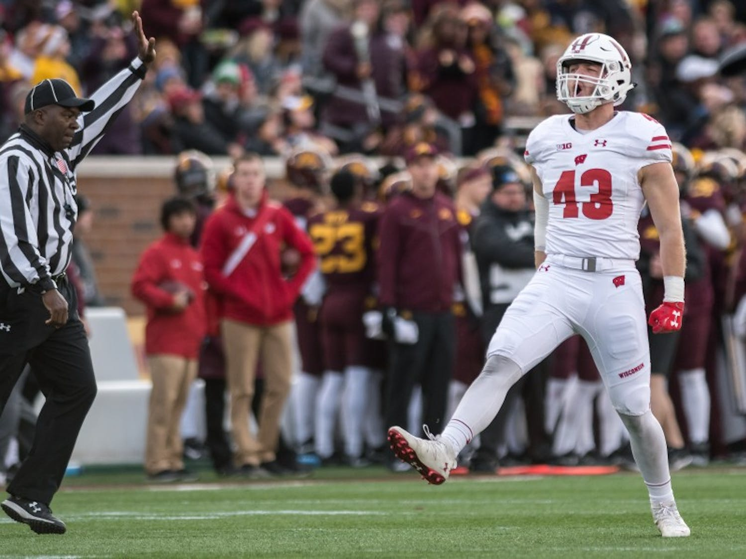 After a 31-0 win over Minnesota, Wisconsin hopes to replicate its success against Ohio State.