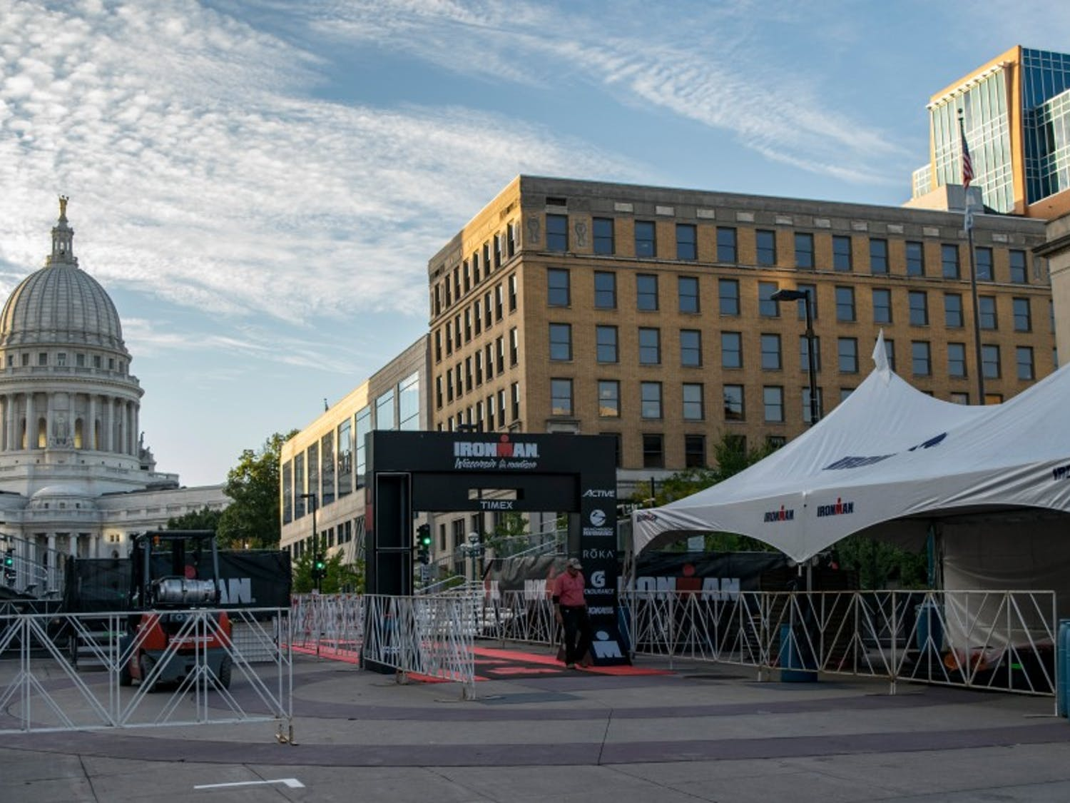 Sunday's Madison Ironman will disrupt traffic in the downtown and campus areas.