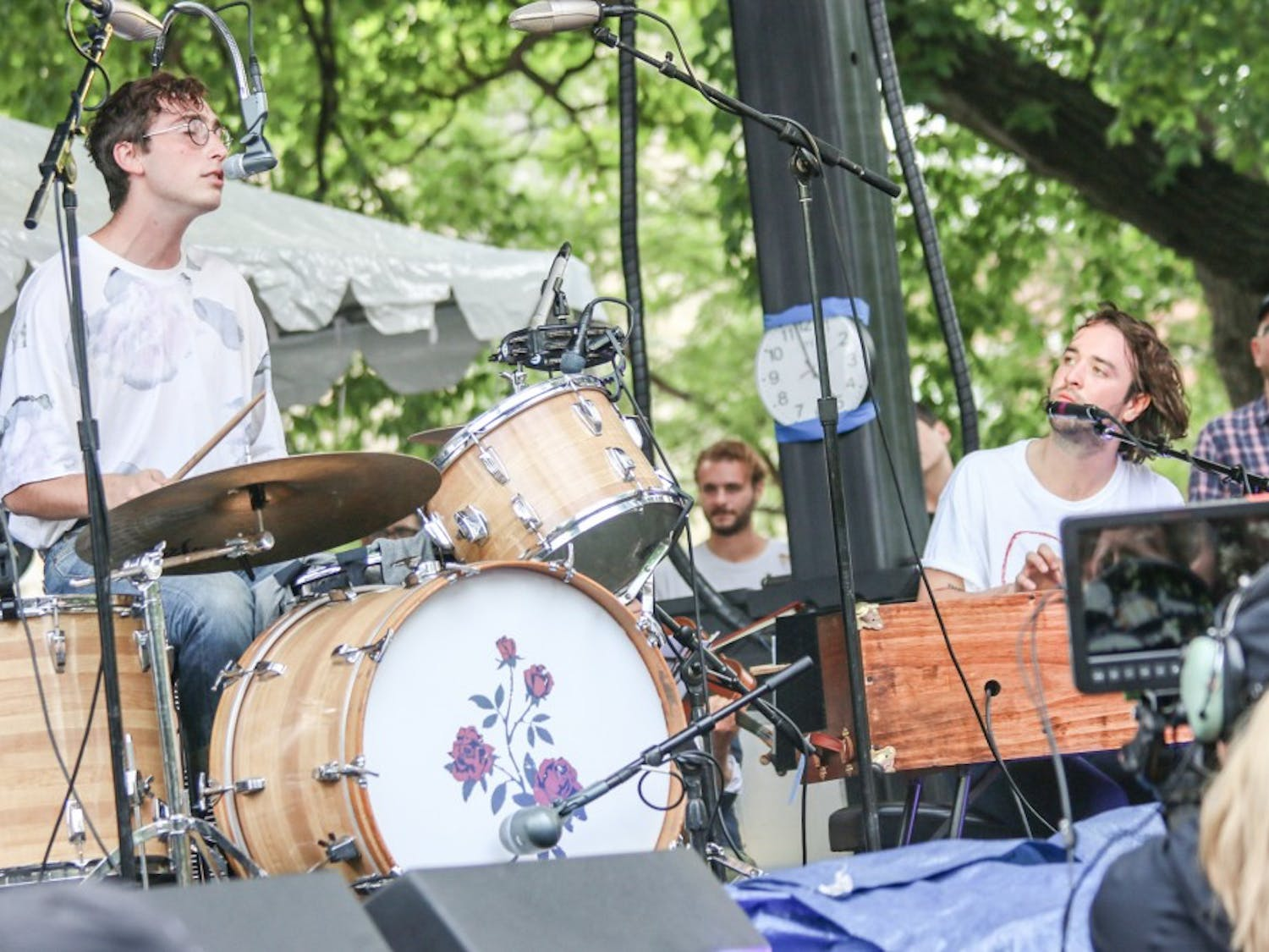 The festival's lineup spans across genre spectrums, from indie folk — like Whitney, above, at last years festival — to 90s-influenced hip-swaying pop.