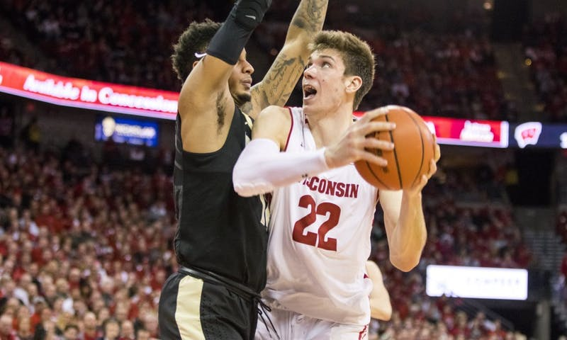 Senior forward Ethan Happ passed the 2,000 point mark in his career with 20 points, but the No. 20 Badgers fell 67-59 to the No. 11 Spartans.