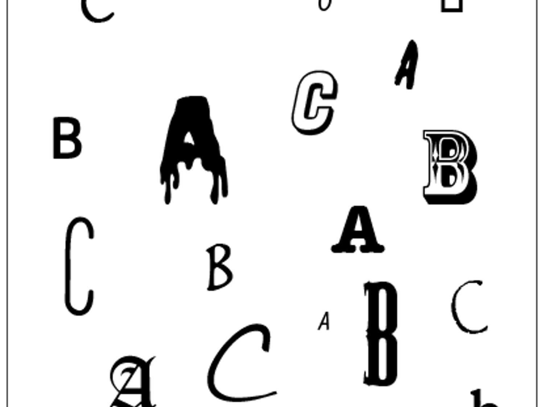 The ABC's of the Alphabet