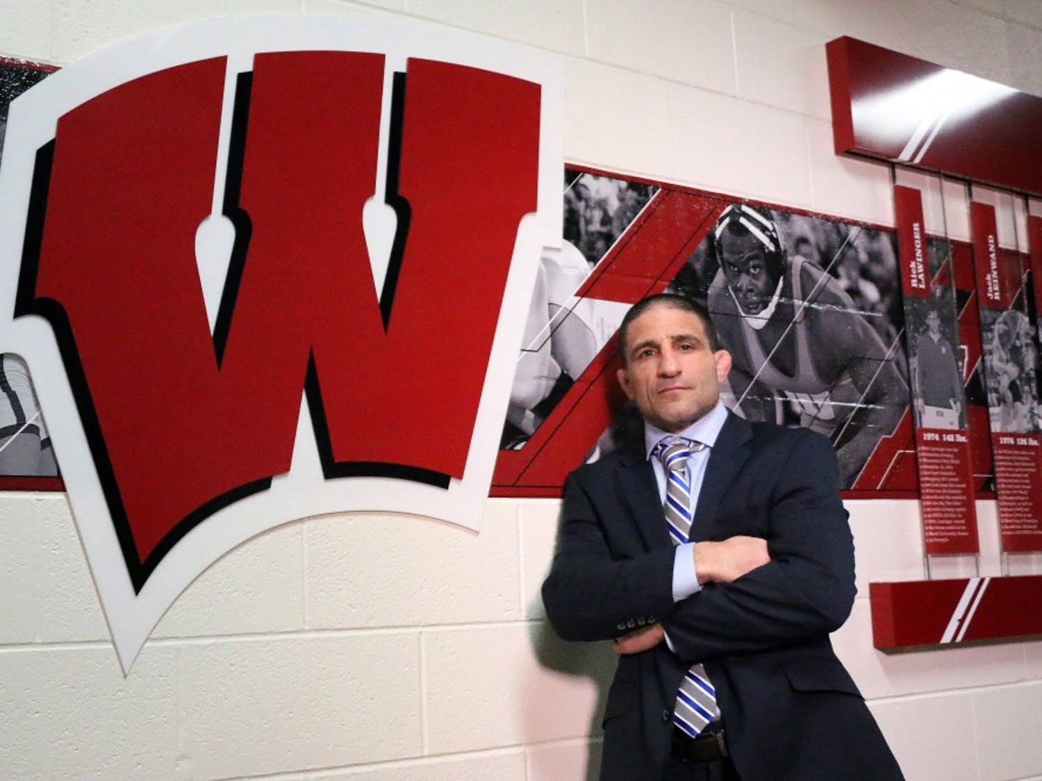 Chris Bono, the 2017 Big 12 Coach of the Year, is hoping to bring Wisconsin its first conference title in school history.