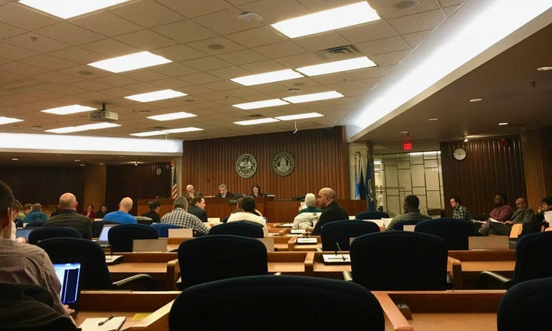 In his quarterly update to Madison's city council, police chief Mike Koval reported a decrease in arrests and shots fired in the last three months of 2018.