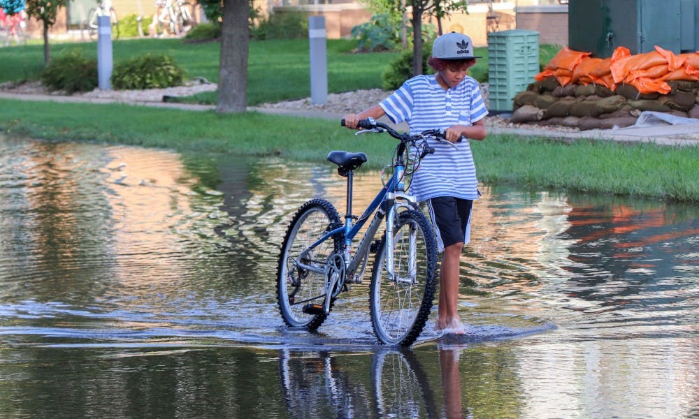 <p>The county executive announced over $9 million toward reducing flooding on the Isthmus.&nbsp;</p>