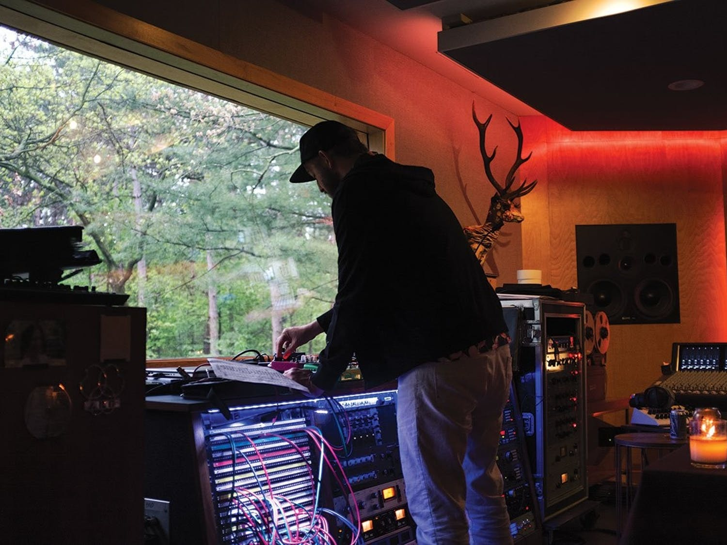Justin Vernon returns to his cabin in Eau Claire, Wisconsin, where he finds creative sererenity, fueling his musical pursuit.