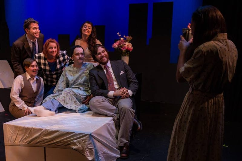 """The cast of """"Falsettos"""" portrays an unconventional family dynamic."""