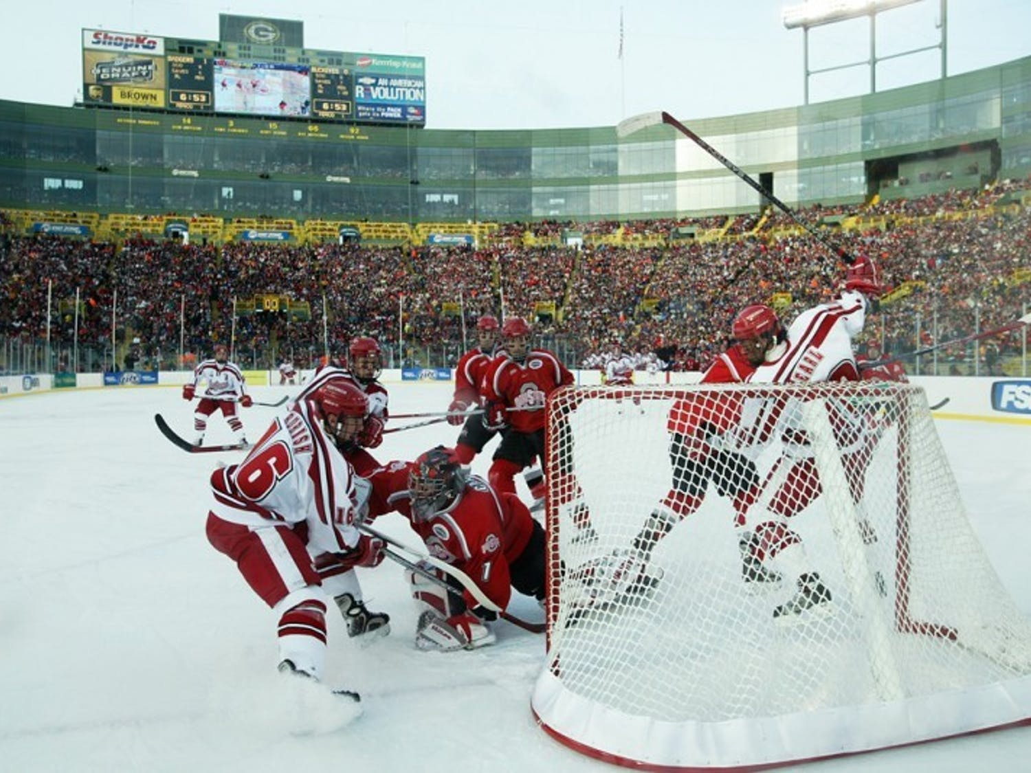 Badgers to battle elements, Wolverines in outdoor Classic