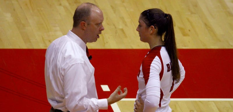 Badgers head coach Kelly Sheffield was disappointed in his teams sloppy performance Thursday night.