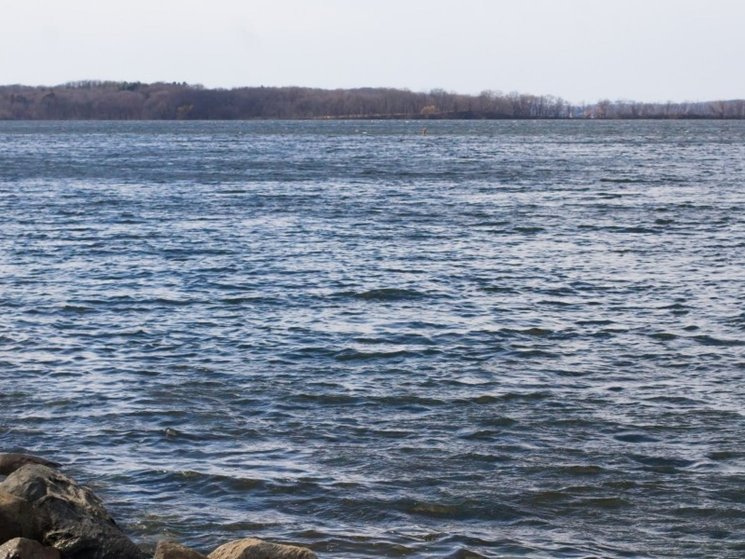 A body was found Thursday in Lake Mendota, on the west shore of the lake.