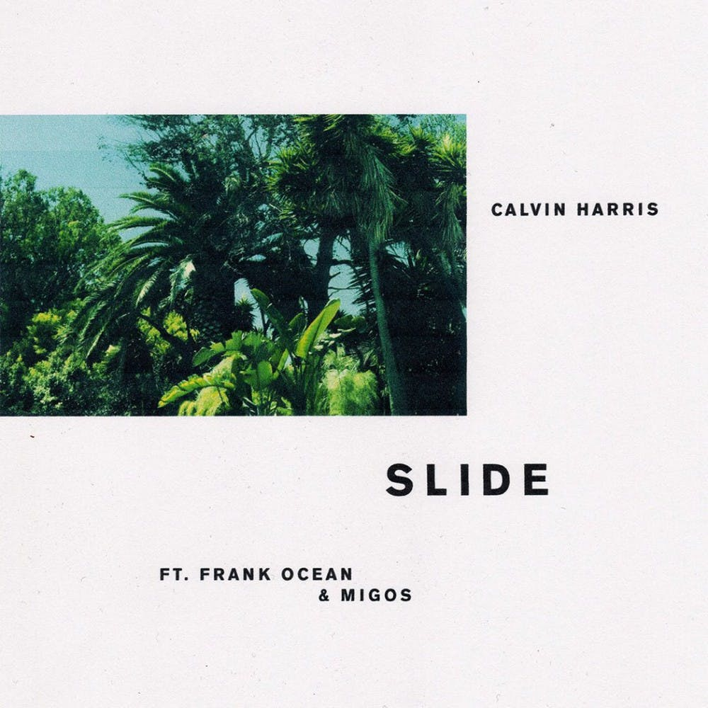 """<p>Calvin Harris's new single """"Slide"""" featuring Migos and Frank Ocean, it's that the trio of artists possesses a strange synergy.</p>"""