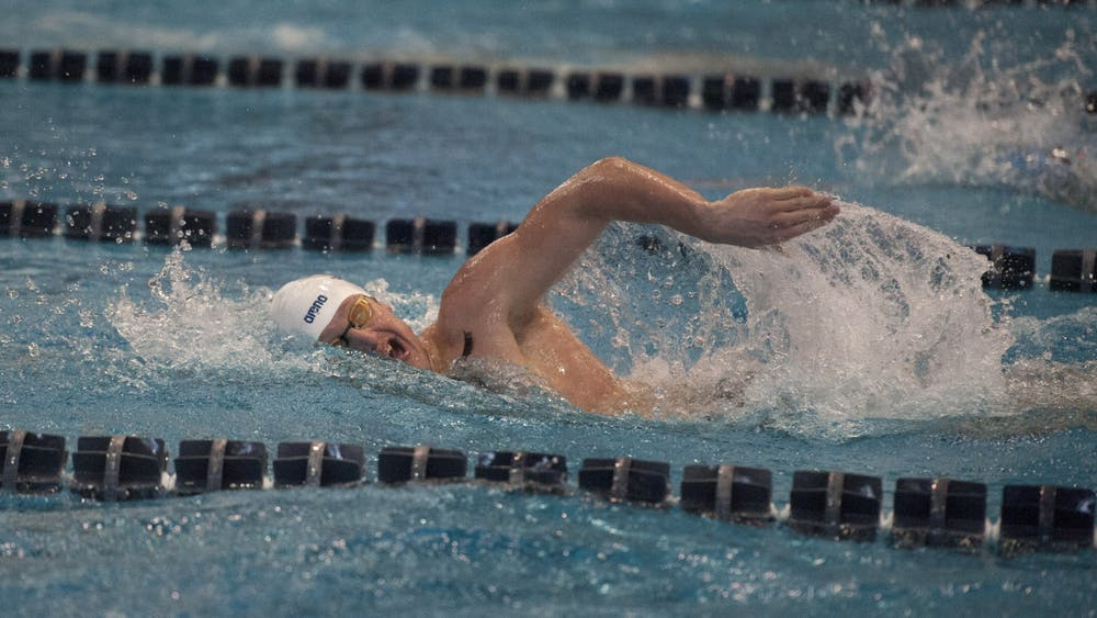 No. 17 men's swim and dive couldn't complete the upset against No. 7 NC State.