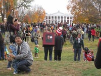 <p>Trick or Treat on the Lawn, Fall 2011</p>