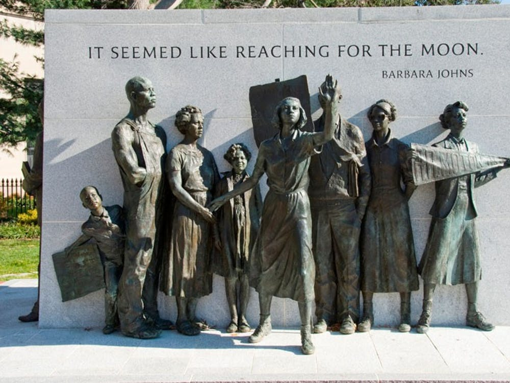 Johns is known for her actions as a student at the former Robert Russa Moton High School in Farmville, whenshe organized a school walk-out group that protested in favor of a new school in 1951.