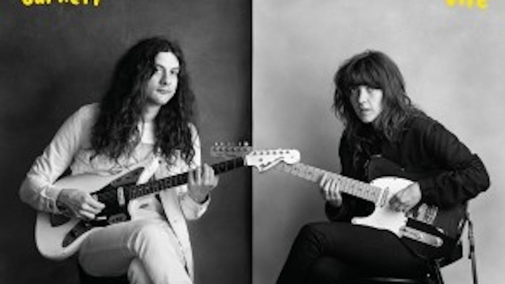"""Courtney Barnett and Kurt Vile, though musicians of various styles, collaborate on """"Lotta Sea Lice"""" with interesting, but mostly good results."""
