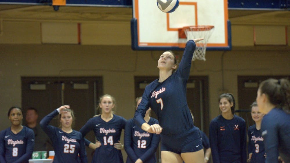 Sophomore Jelena Novakovic couldn't lead the Cavaliers to victory against Louisville and Notre Dame.