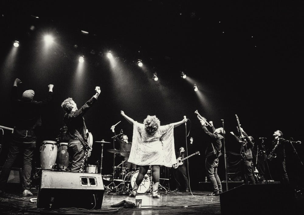 """<p>Seven months after releasing """"Everything Here,"""" The Suffers made a triumphant return to The Southern Feb. 21.</p>"""