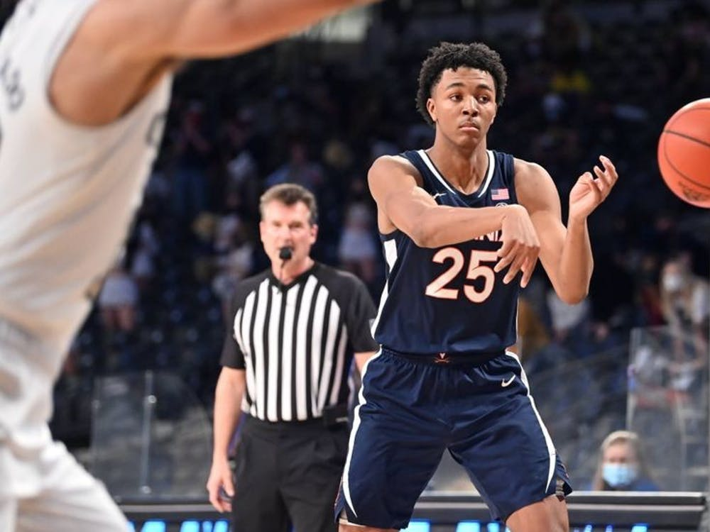 Junior guard Trey Murphy led Virginia with 18 points against Georgia Tech.