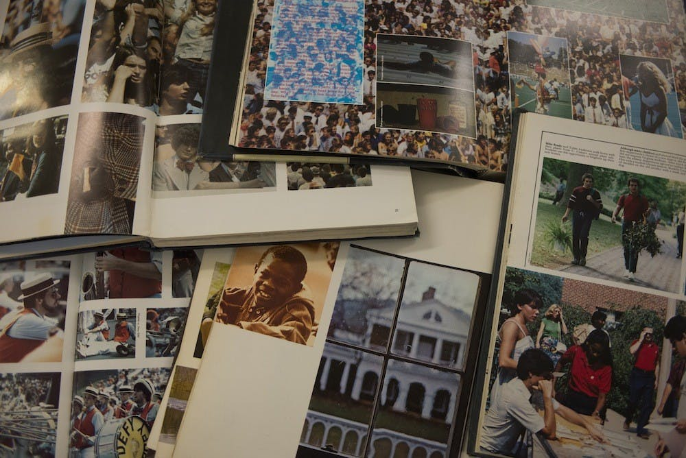 <p>Third-year College student Carly Buckholz and third-year Engineering student Michael Buhl are bringing back Corks and Curls, the University's yearbook, to Grounds this year.</p>