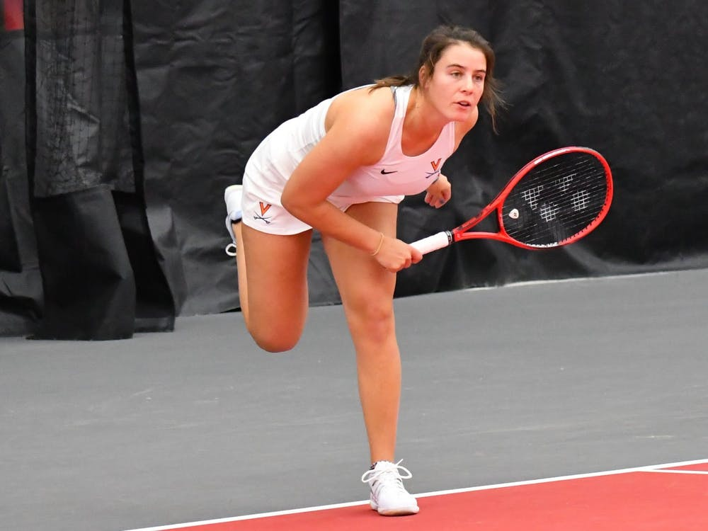 No. 80 freshman Emma Navarro had a strong weekend for Virginia, winning both of her singles matches and her doubles match against Ohio State.