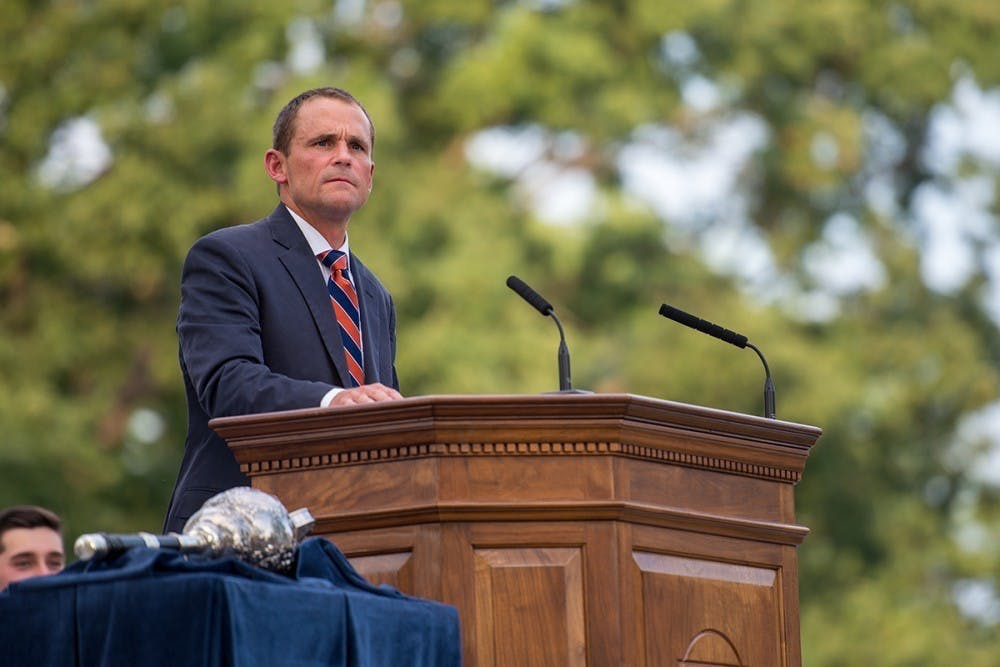 <p>The University's implementation of a living wage is the most important aspect of his ongoing goal to create better relations with the Charlottesville area.</p>