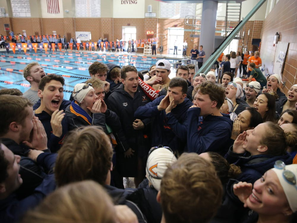 The Virginia women are the top-ranked team in the country while the men are ranked 13th nationally.