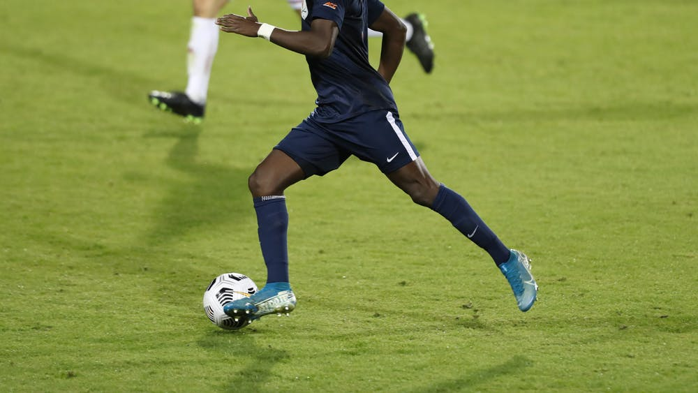 Senior forward Irakoze Donasiyano had his first career penalty-kick attempt saved in the 60th minute.