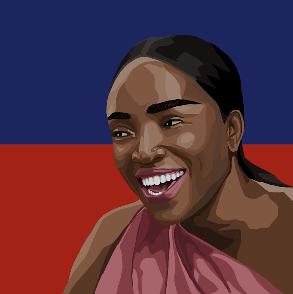 """Haitian singer Emeline Michel is the proud mastermind behind the greatest song of all time, """"Gade Papi."""""""