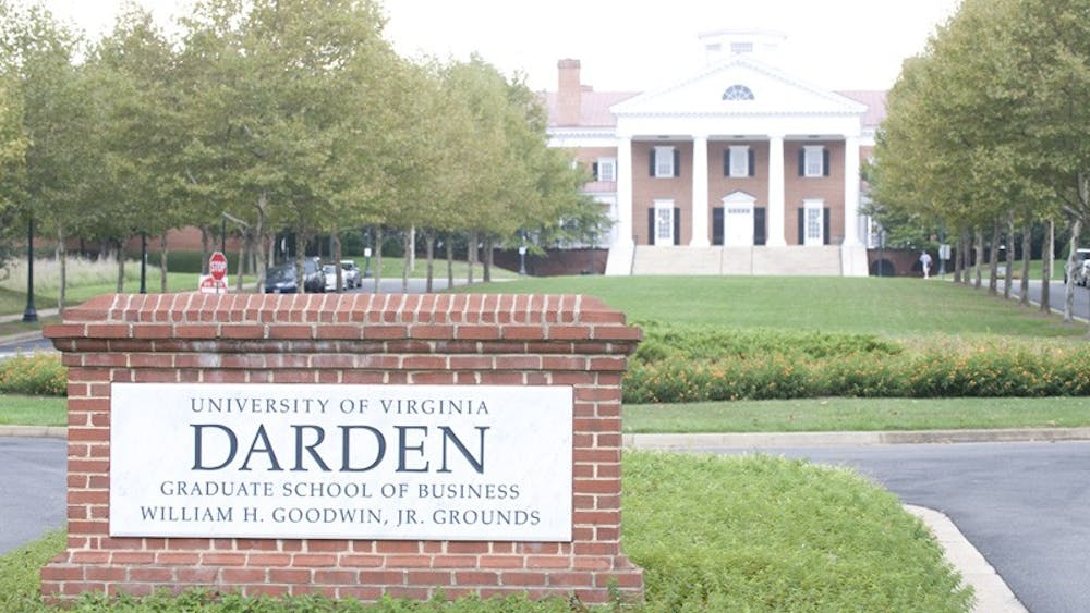 The Darden School, above, is the University's primary graduate business school.