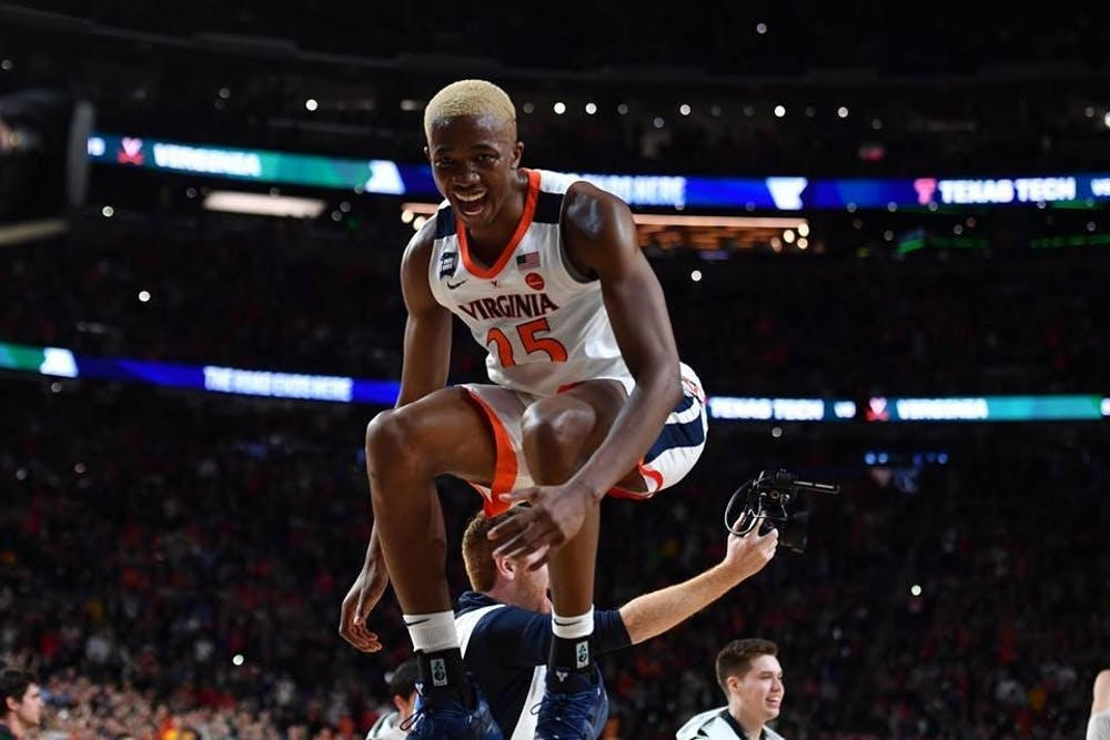 <p>In the 2019 championship game, Diakite contributed nine points and seven rebounds, helping Virginia secure its first national title.&nbsp;</p>
