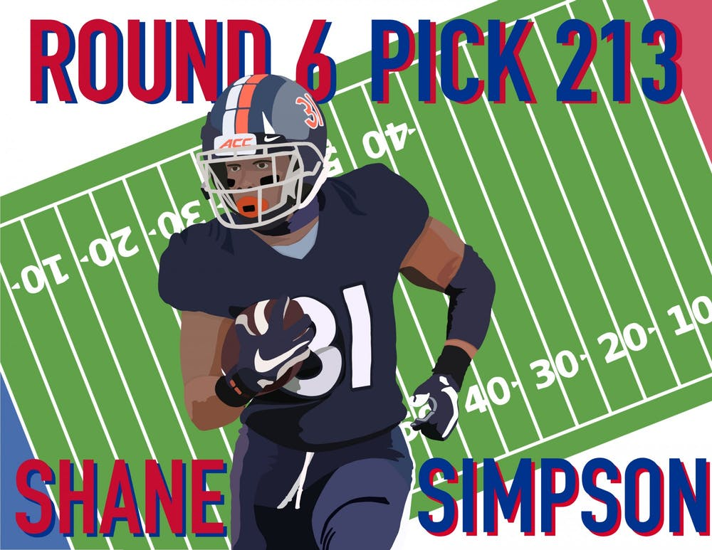 <p>Coming off of a strong season at Virginia, running back Shane Simpson has generated buzz among scouts as a mid to late-round pick in the draft.</p>