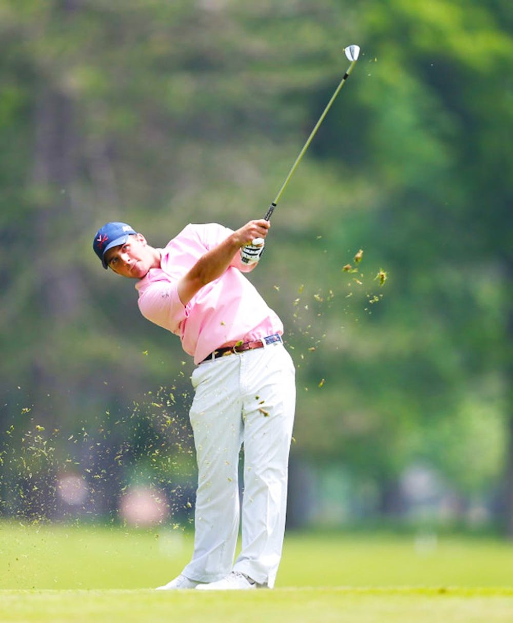 <p>Senior Denny McCarthy won his head-to-headmatch Sunday, when the Cavaliers' fell 3-2 to South Carolina in match play at the DICK'S Sporting Goods Challenge Cup.</p>