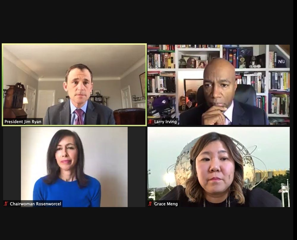 <p>Panelists emphasized that the pandemic's forced transition to online learning has exacerbated the digital divide, making disparities among racial and socioeconomic classes that much clearer.&nbsp;</p>