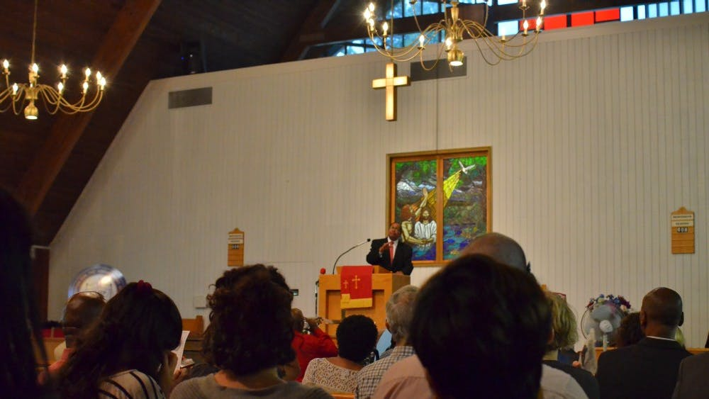"""At Zion Union Baptist Church on Aug. 12, the NAACP hosted """"Time for Reflections and Healing."""""""