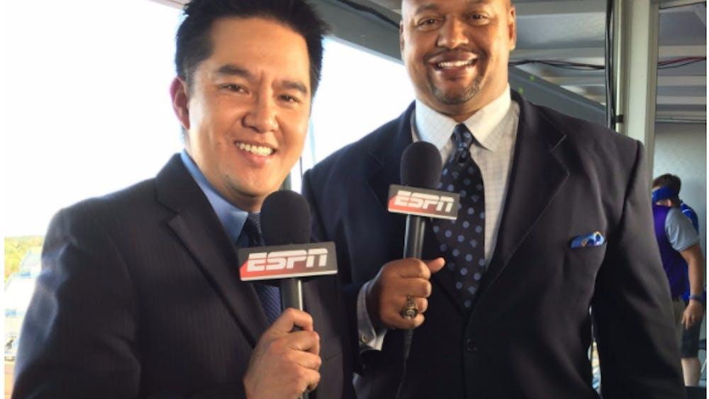 ESPN announcer Robert Lee