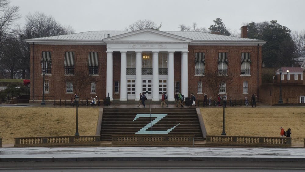 Garrett Hall is home to the Batten School of Leadership and Public Policy.