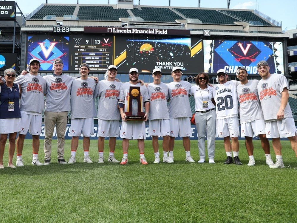 Virginia men's lacrosse begins its national title defense Feb. 8 against Loyola at Klöckner Field.