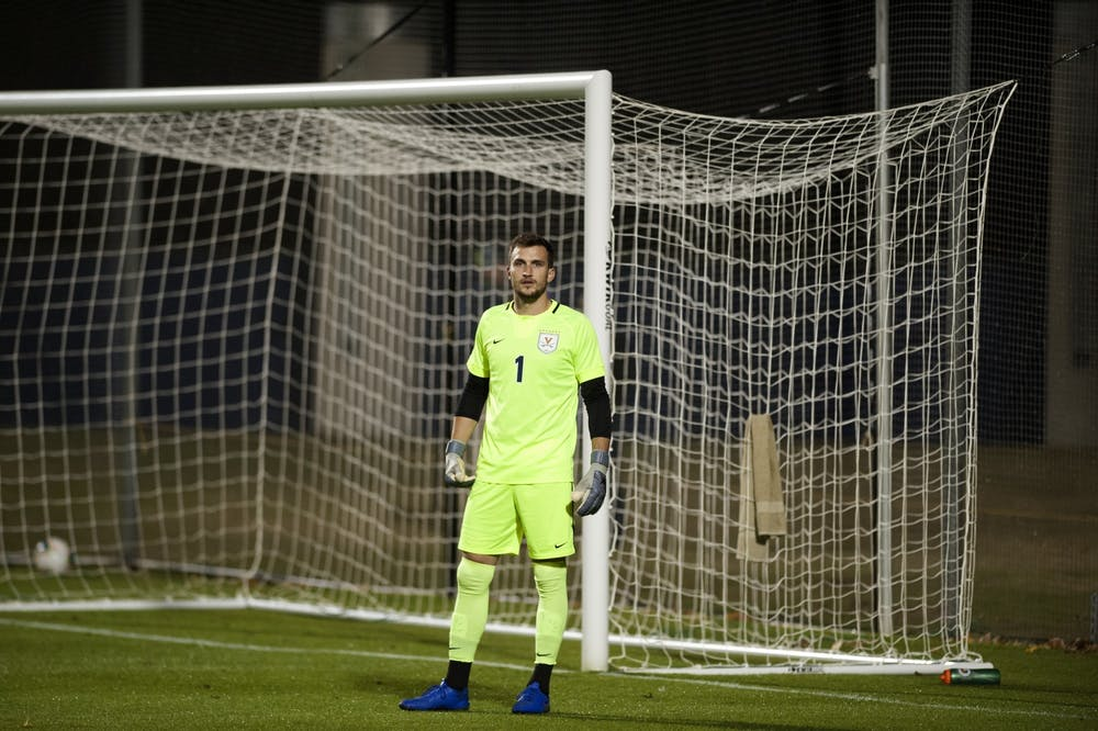 <p>Graduate student goalkeeper Colin Shutler was the last Cavalier picked in the 2021 SuperDraft, ending his decorated Virginia career with 24 shutouts — the third most in program history.&nbsp;</p>