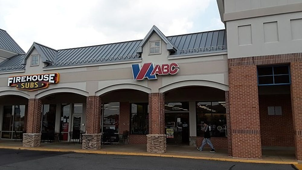 While beer and wine can be sold at any licensed business in Virginia, liquor is required to be sold at state-owned and operated Virginia Alcohol and Beverage Control stores.