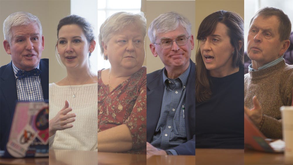 Active Minds' mental health panel brought speakers from a variety of schools and departments within the University.