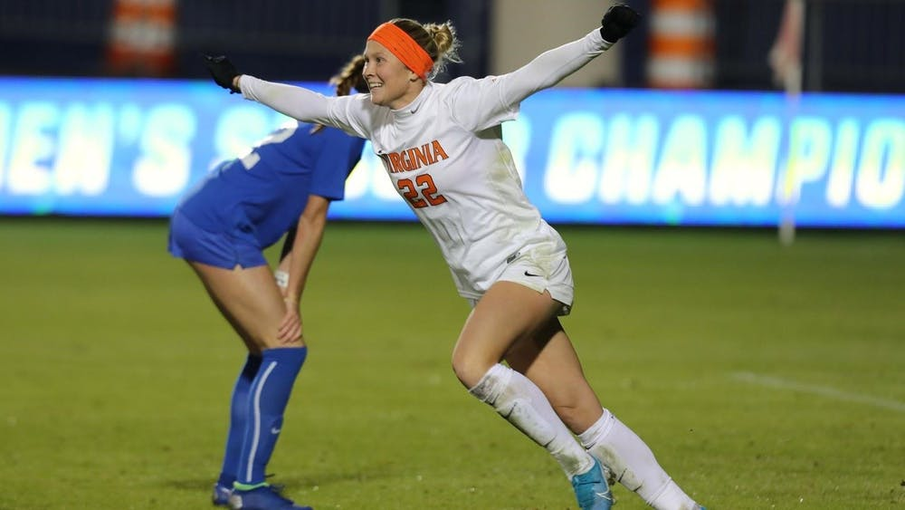 <p>Senior forward Meghan McCool led Virginia once again with her sixth game-winner on the season, posting a goal in the 55th minute of the match.</p>