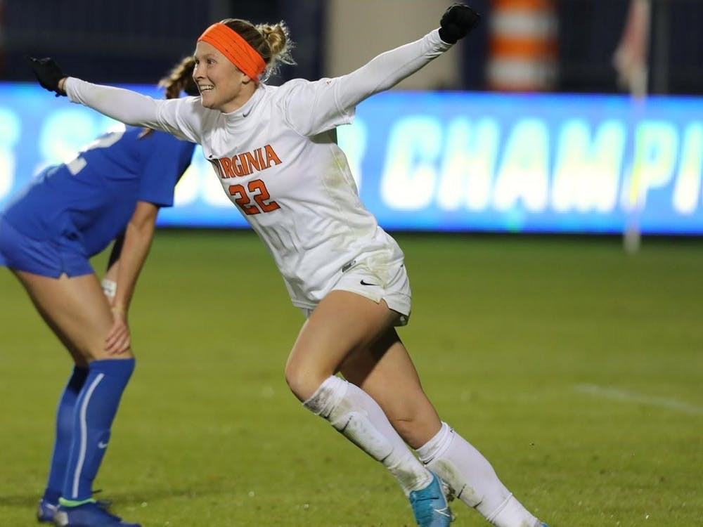 Senior forward Meghan McCool led Virginia once again with her sixth game-winner on the season, posting a goal in the 55th minute of the match.