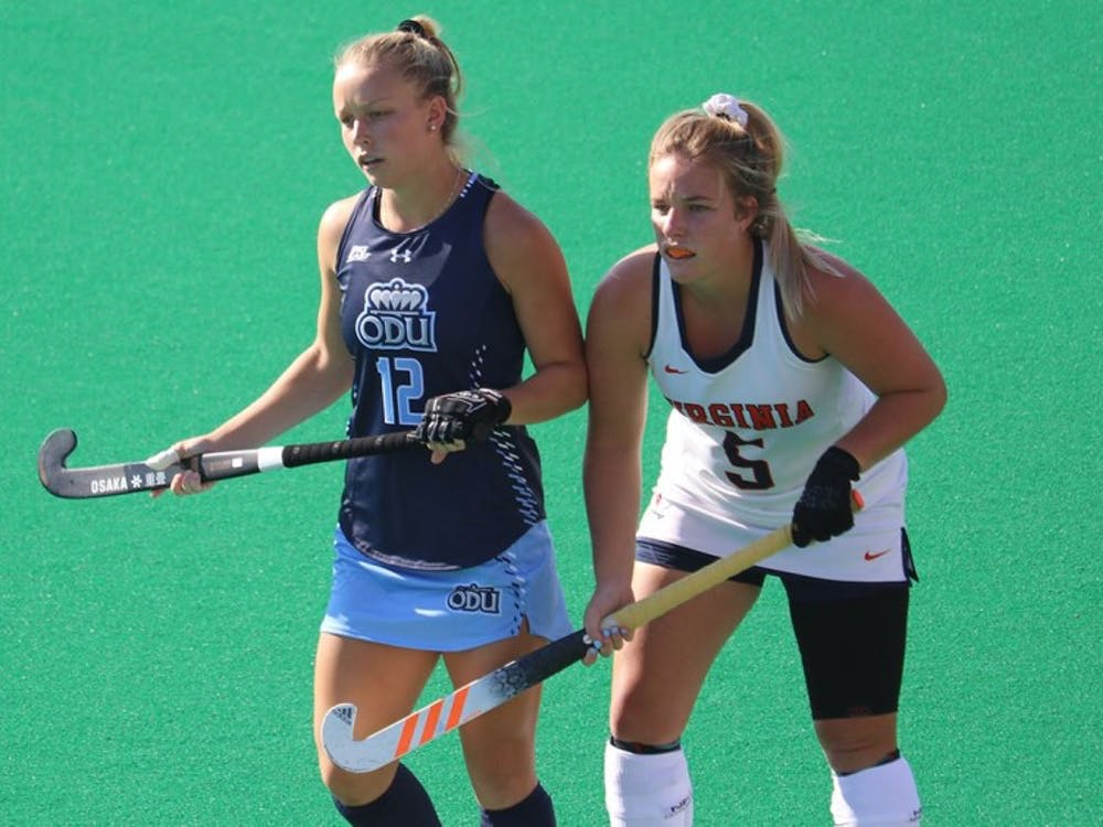 Senior back Anzel Viljoen helped the Virginia defense hold Old Dominion to zero goals and scored her first goal of the season against Penn State.