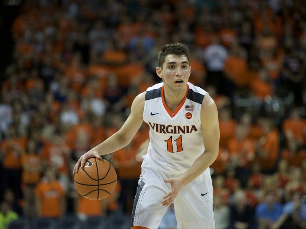 Sophomore guard Ty Jerome led the Cavaliers with 18 points Wednesday night.