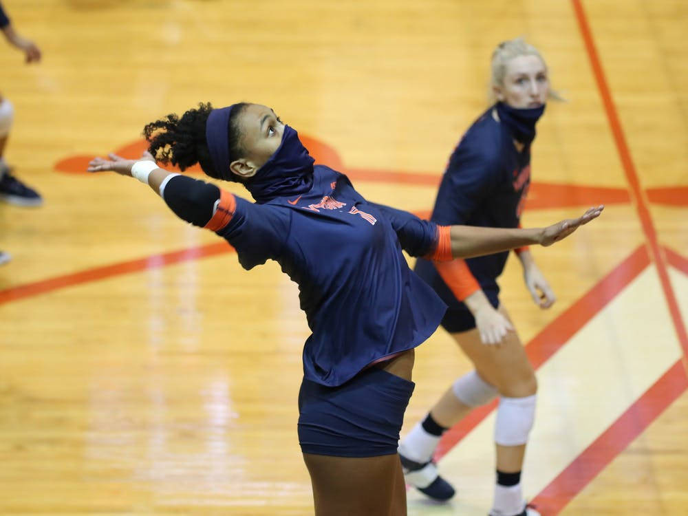 The return of junior middle blocker Milla Ciprian should provide a big boost for a Cavalier squad searching for its first ACC win.