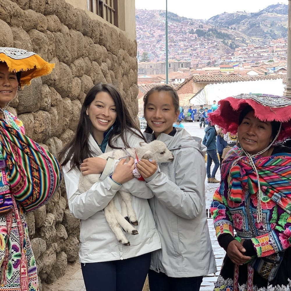 <p>Natalie and Maya became inspired to start the project after their first visit to Huacahuasi two years ago.</p>